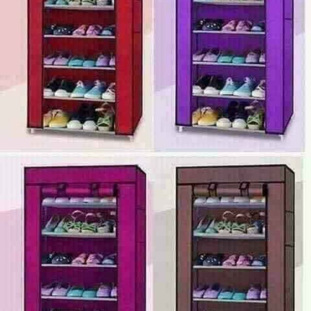 TỦ GIÀY 7 TẦNG 6 NGĂN  (LOẠI ĐẸP )  chắc chắn  để được  rất nhiều giày dép, có vỏ  bọc bên  ngoài