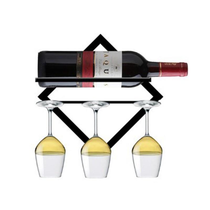 Giá Đỡ Chai Rượu Gắn Tường Tiện Dụng