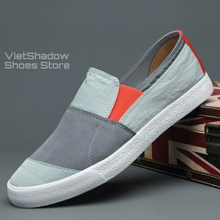 Slip on nam 2020 - Giày lười vải nam cao cấp BAODA - Vải polyester chống thấm 3 mẫu pha màu tuyệt đẹp - Mã 20036 thumbnail