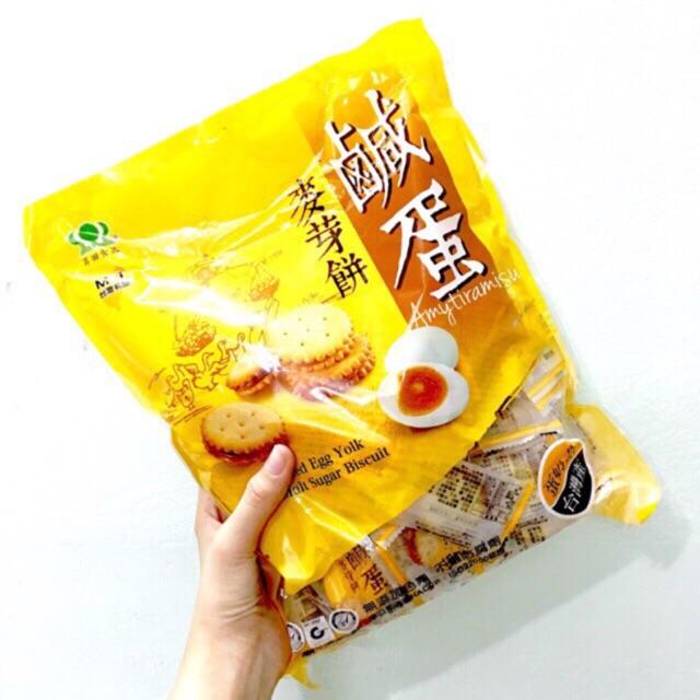 Bánh qui giòn trứng muối Đài Loan gói 500g - 3203072 , 638584453 , 322_638584453 , 99000 , Banh-qui-gion-trung-muoi-Dai-Loan-goi-500g-322_638584453 , shopee.vn , Bánh qui giòn trứng muối Đài Loan gói 500g