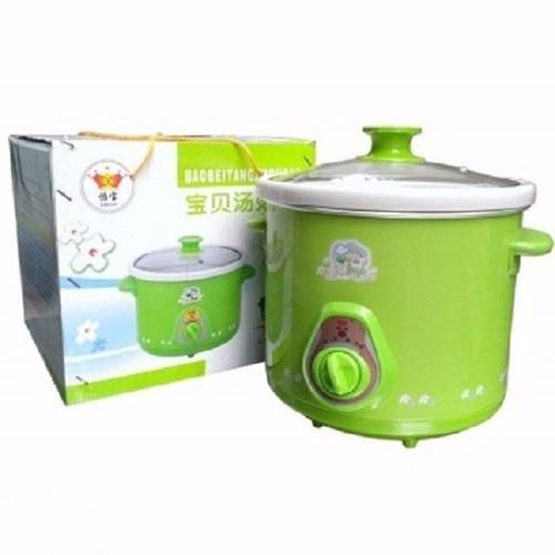 Nồi nấu cháo cho bé ❤️FREESHIP❤️ nồi nấu chậm đa năng ruột sứ an toàn tiện lợi.