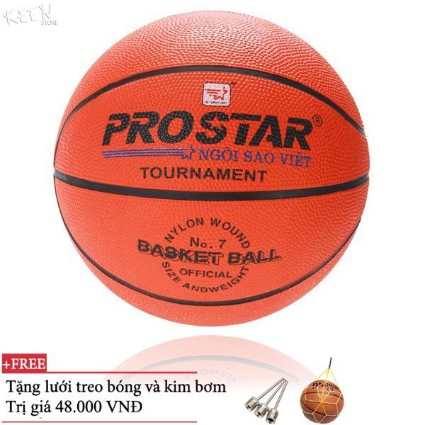 Quả bóng rổ keenstore chính hãng Prostar tiêu chuẩn thi đấu 5,6,7