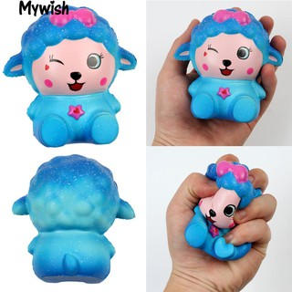 Starry Sky Cartoon Sheep Slow Rising Squeeze Decompression Toy
