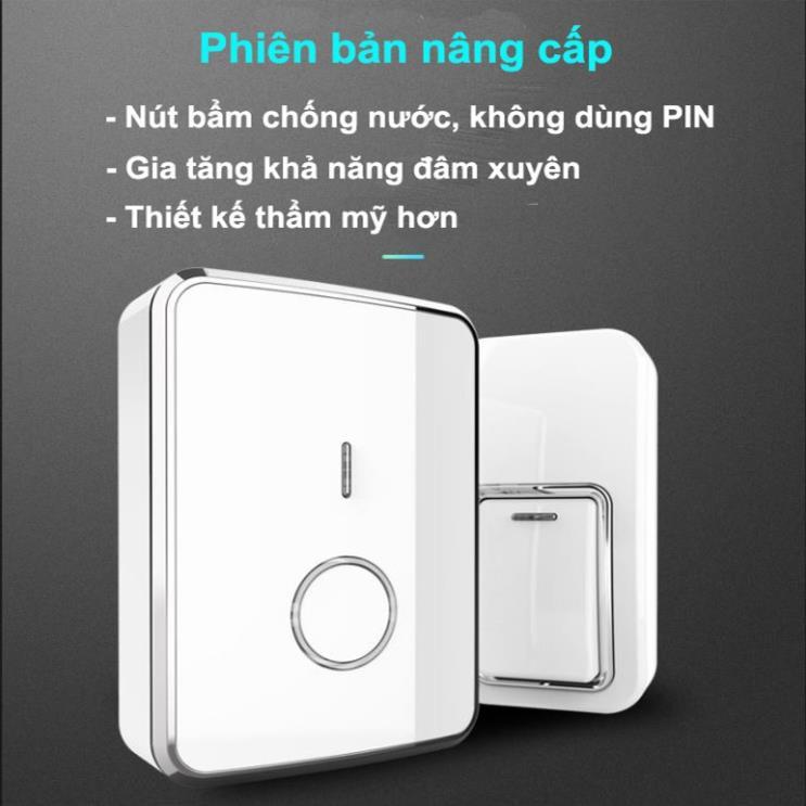 Chuông cửa không dây chống nước, không dùng pin Augreener N1 (Phiên bản  nâng cấp)   Shopee Việt Nam