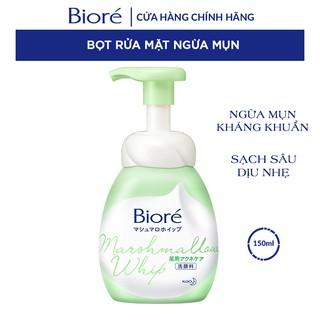 Bọt Rửa Mặt Ngừa Mụn Biore Marshmallow Whip Acne Care 150ml thumbnail