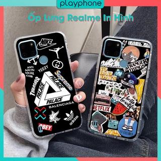 Ốp lưng Realme C21Y C15 C20 C17 C3 C3S C2 C3i C2s C11 C25 C1 C25S Dẻo Đen và Dẻo Trong Suốt Mau Place Playphone