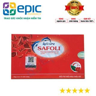 [CHÍNH HÃNG ] Avisure Safoli - sắt hữu cơ cho phụ nữ mang thai thumbnail