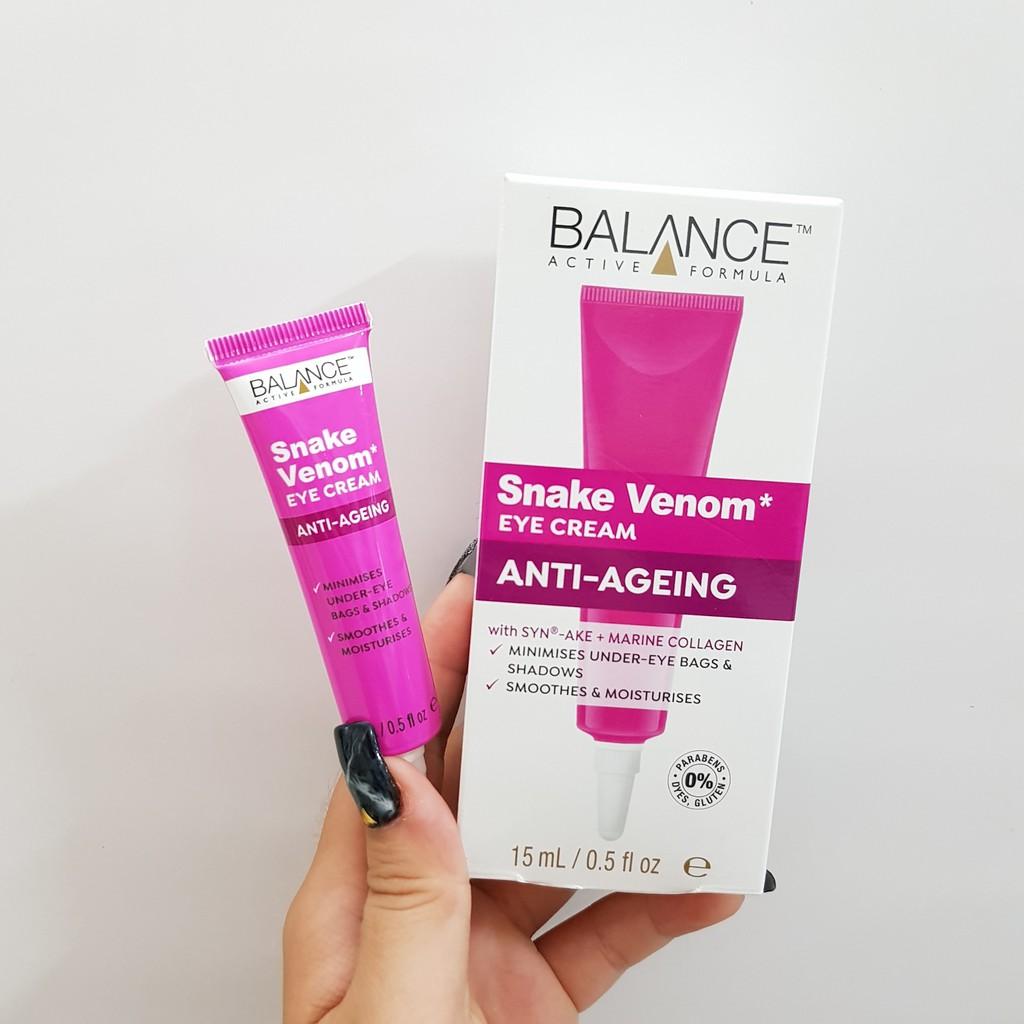 Kết quả hình ảnh cho kem dưỡng mắt balance snake venom eye cream