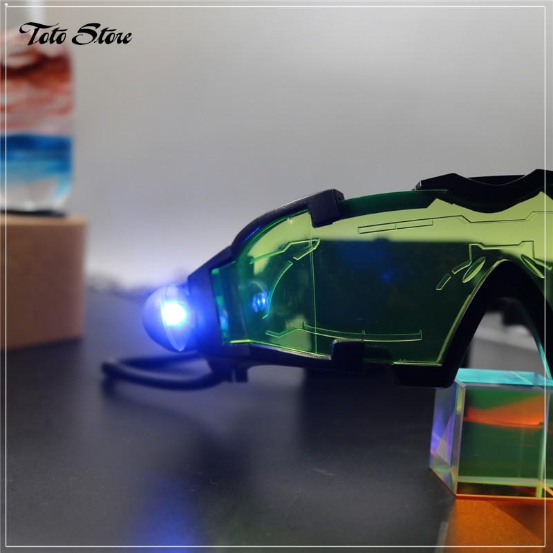 Kính gắn đèn Led quay Tiktok cực ngầu - Phụ kiện Tiktok - Mắt kính bảo hộ chống bụi có...