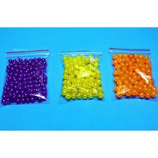 Hạt Nhựa Giả Ngọc Trai nhiều màu, Kích Thước 4-5mm