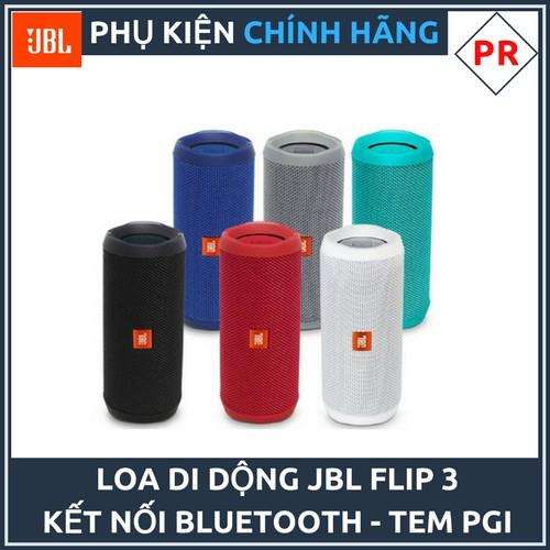 Loa di động Bluetooth JBL Flip 3 - Hàng chính hãng PGI