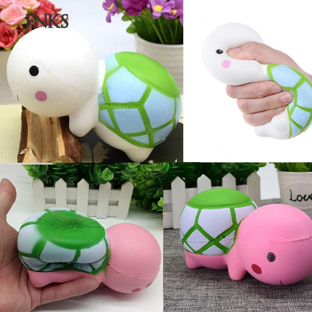 ★SP Cartoon Turtle Squishy Slow Rising Stress Reliever Kids Adults Squeeze Toys
