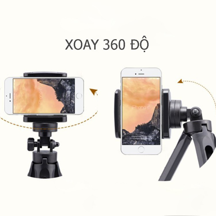 Chân máy ảnh slide (tripod) siêu tiện lợi cho điện thoại