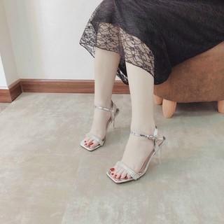 Sandal đính đá sang chảnh 9cm