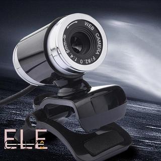Webcam 107ele Hd 12 Megapixel Elsb 2.0 Kèm Dây Cáp 1.2m Cho Laptop thumbnail