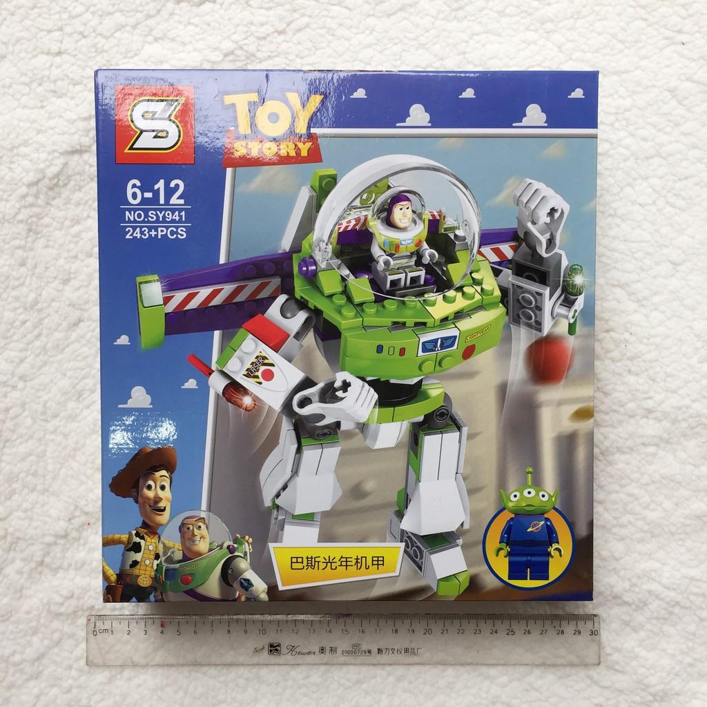 Xếp hình Lego Toy Story - Buzz Lightyear và người bạn 3 mắt (243 chi tiết)