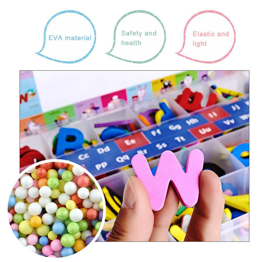 Bộ đồ chơi chữ cái bằng xốp có nam châm dành cho bé T2S5