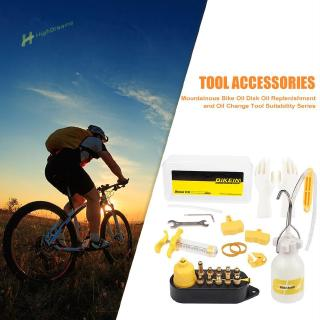 ☀ 1 Set BIKEIN Universal Bicycle Hydraulic Disc Brake Mineral Oil Bleed Kit