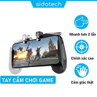 Tay cầm nút bắn Pubg Free Fire SIDOTECH Memo AK16 chuyên chơi game trên điện thoại sử dụng 4 ngón gấp đôi tốc độ xử lý thumbnail