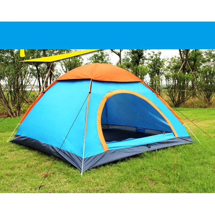 Lều Cắm Trại 4 Người (2 lớp)