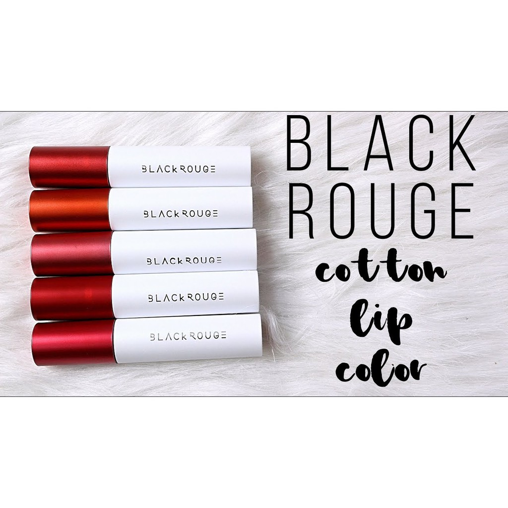 Son Môi Black Rouge Cotton Lip Color