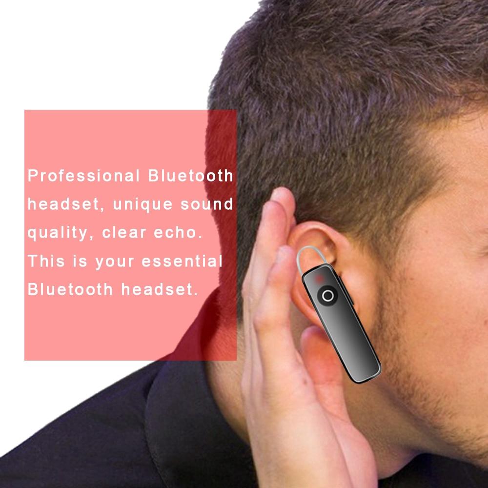Tai nghe không dây M165 kết nối Bluethooth 4.1 với micro có kèm cáp sạc