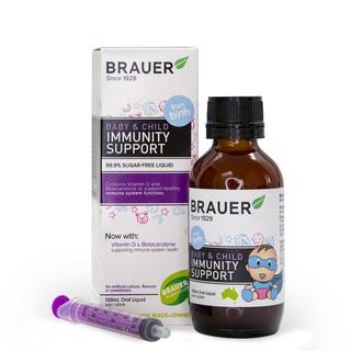 Brauer Hỗ trợ Tăng cường Hệ miễn dịch dạng siro 100ML