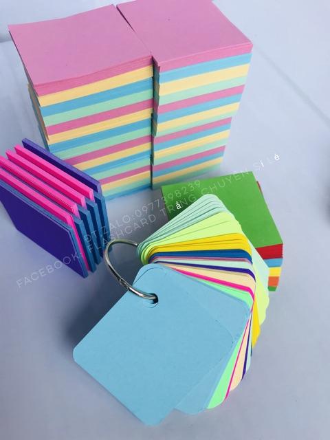 Bộ thẻ Flashcard học từ vựng tiện dụng