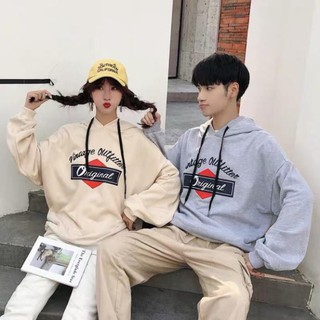 Áo hoodie nỉ form rộng unisex Original nam nữ ulzzang Wind ️🏆 ་