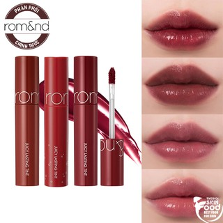 [New][4 màu mới 18-21] Son Tint Lì Romand Juicy Lasting Tint 5.5g