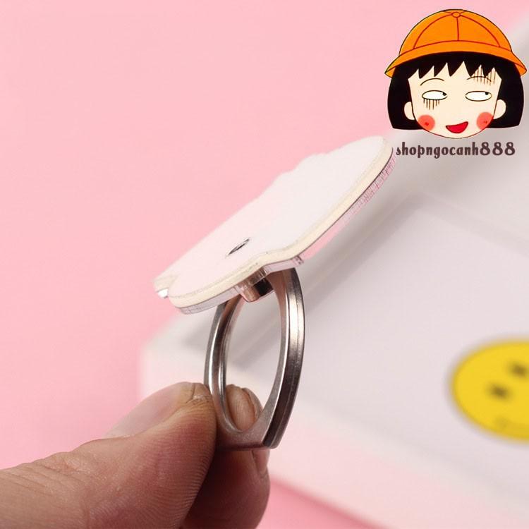 [Full hộp] Iring Giá Đỡ Điện Thoại Hình Chiếc Nhẫn Hoạt Hình One Piece