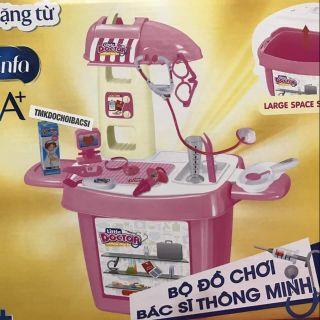 Bộ đồ chơi bác sĩ thông minh Enfa (màu hồng)