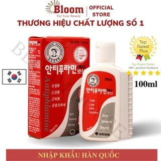 Dầu Nóng Hàn Quốc Antiphlamine Korea 100ml - Dầu Xoa Bóp Massage Chấn Thương Đau Cơ Sương Khớp thumbnail