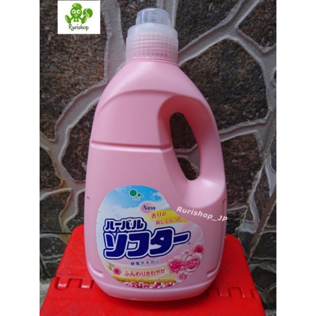 Nước xả vải cao cấp Mitsuei Nhật Bản hương hoa hồng 2L