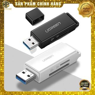 Đầu đọc thẻ nhớ SD TF cổng USB 3.0 Ugreen 40752 - 40753 chính hãng - HapuStore thumbnail