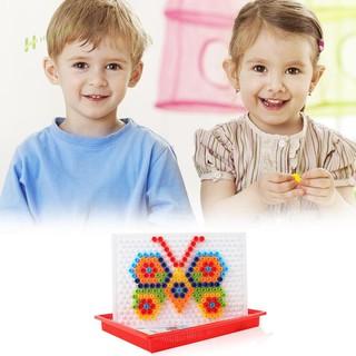★Hi★3D Puzzle Assemble Games Kids DIY Flashboard Block Educational Toys