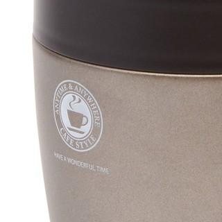 Cốc Uống Cafe Giữ Nhiệt Asvel Nhật Bản Bằng Thép Không Gỉ Cách Nhiệt và Giữ Nhiệt Với Nắp Đậy Cao Cấp (tiêu chuẩn Nhật B