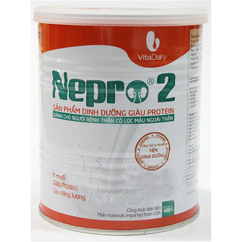sữa dành cho người suy thận và tiểu đường Nepro 2 400g