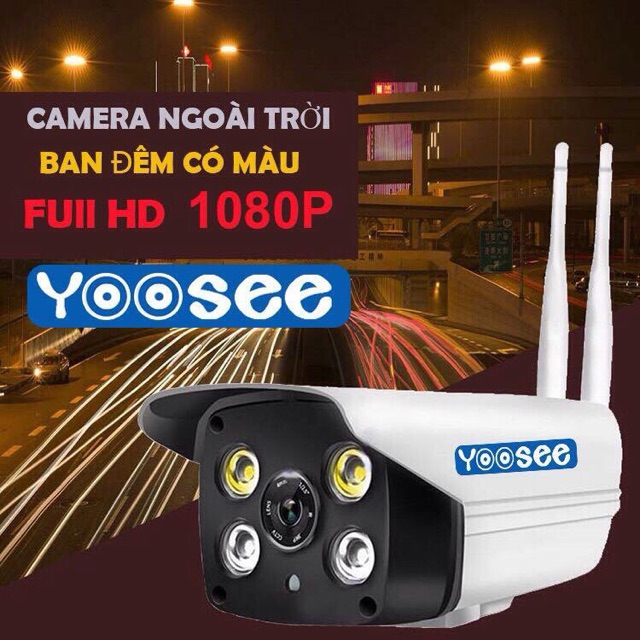 Camera IP Yoosee ngoài trời Full HD 1080P - Bảo Hành 12