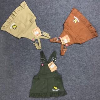 Yếm váy kaki siêu xinh dành cho bé gái từ 1 đến 4 tuổi [MA010]