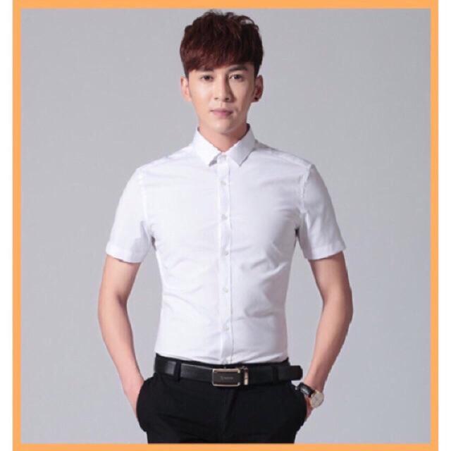 [FREESHIP 99K]Sơ mi ngắn tay form Hàn Quốc mẫu