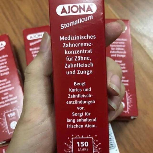 Kem đánh răng trị hôi miệng Ajona