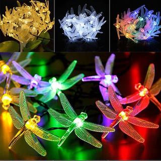 Dây đèn LED trang trí hình chuồn chuồn