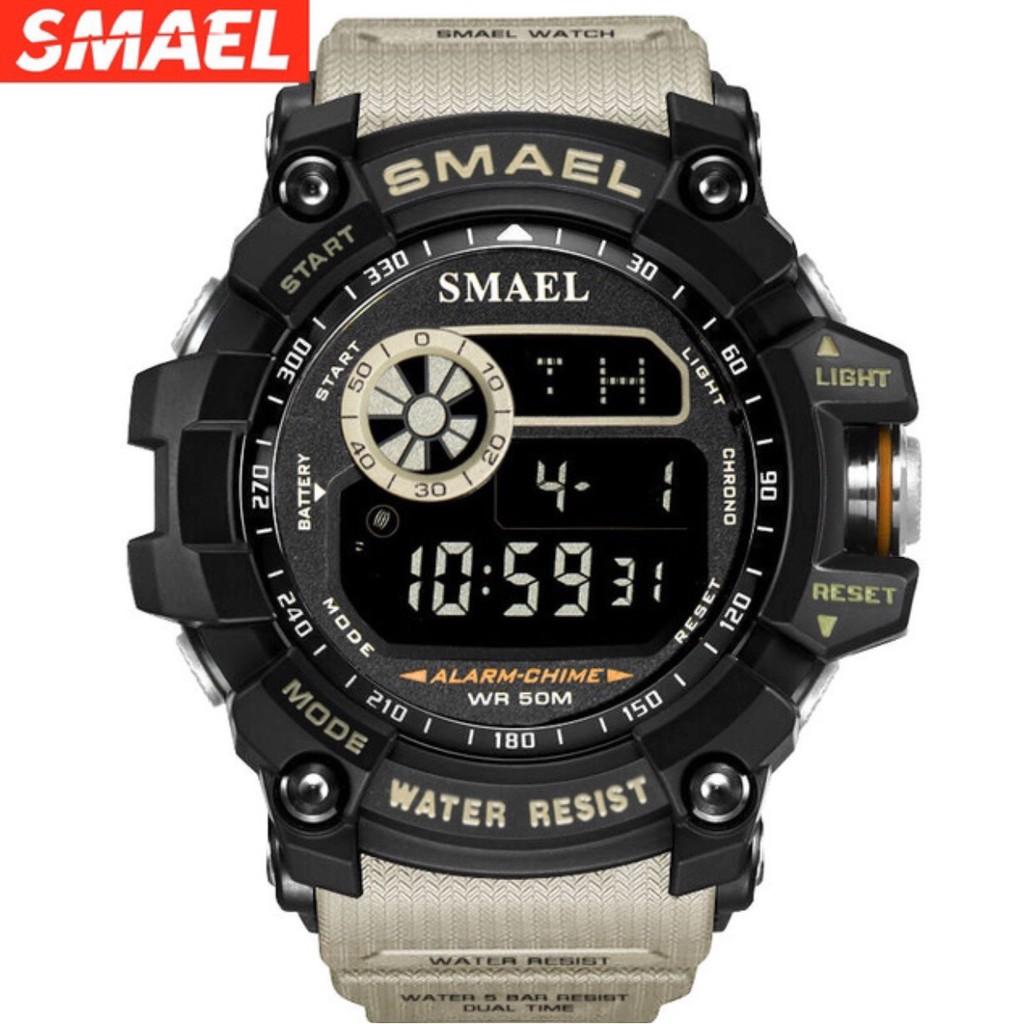 [FULL HỘP] -Đồng hồ nam SMAEL đa chức năng- chống nước vượt trội-Hàng chính hãng