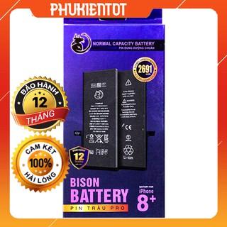 Pin Bison-Pin Chất Lượng Chuẩn Nhất Cho iPhone-BH 12 tháng + Bảo hiểm cháy nổ 25tỷ (tặng kèm keo dán pin)