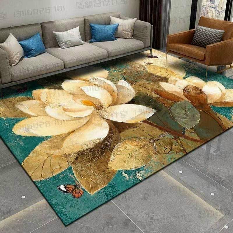 Thảm Trải Sàn Nhà,Thảm Nỉ,Thảm Lót Sàn Nhà, Decor Phòng Ngủ,Thảm Bali,Thảm Trang Trí Nhà Cửa Nội Thất 5.0