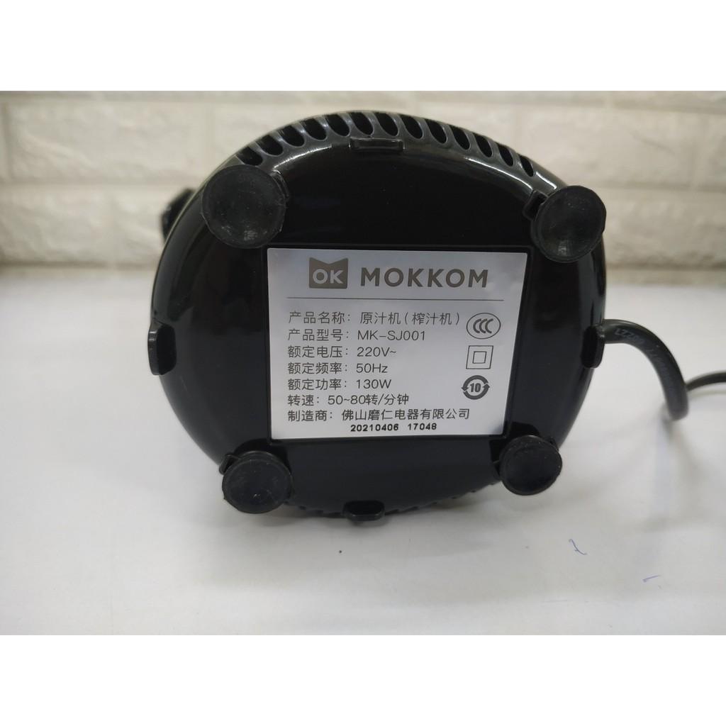 Máy ép chậm mini Mokkom MK-SJ001 250ml - 2 màu, nhỏ gọn, tiện lợi