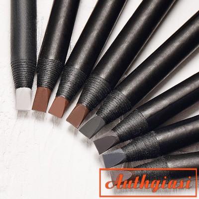 Chì xé kẻ mày cứng xịn chống nước gảy phẩy sợi Haozhuang Make Up Milano Eyebrow Pencil