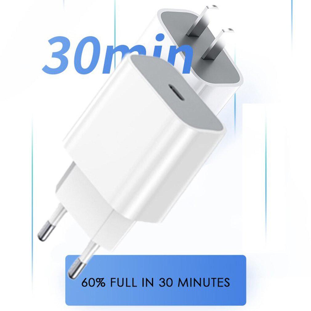 Ele】Bộ Sạc Nhanh PD 20W Cho IPhone 11/ 11 Pro Max/ X/ XS Max/ 8/ 8 Plus/ 12/12pro/12promax
