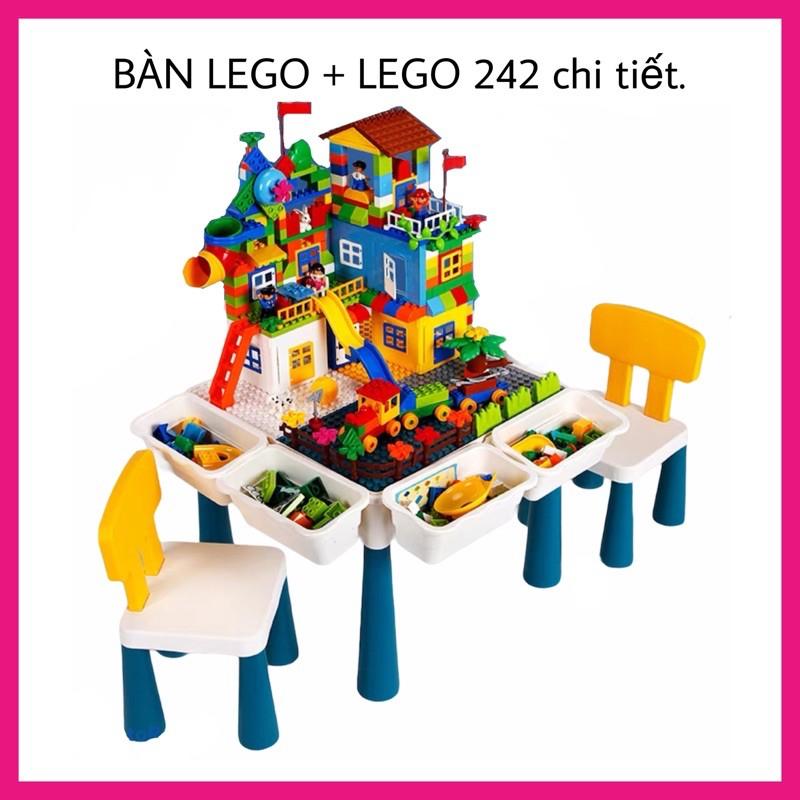 Bộ Bàn Lắp Ráp Lego Đa Năng Cho Bé – ĐỒ CHƠI XẾP HÌNH SÁNG TẠO, THÔNG MINH CHO BÉ
